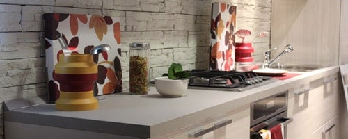 effect on wooden countertop